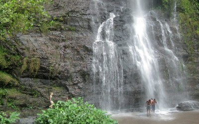 Awhum Waterfall and Cave