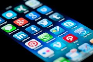 Social Media Apps on Apple iPhone 5